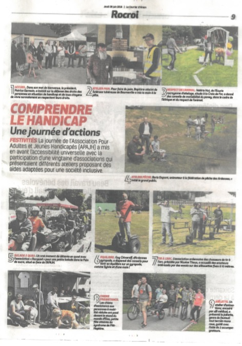 Article de journal journee apajh
