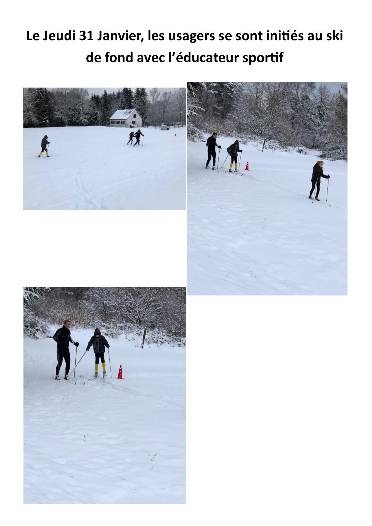 Site ski de fond